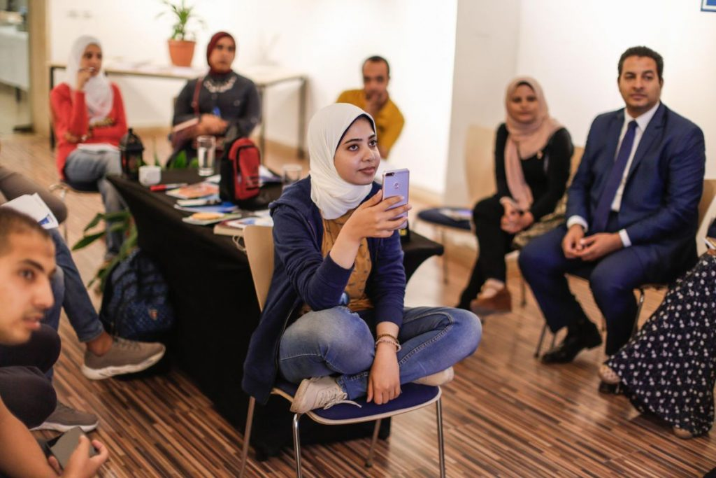 2018 10 20 Cairo Goethe Tahrir Workshop Participants 28