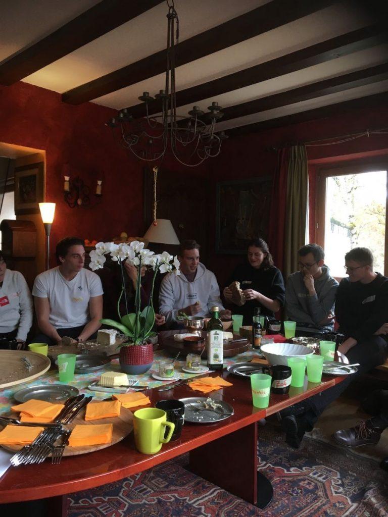 2018 10 30 Hotonnes TA Course St Gallen Breaking Bread Circle