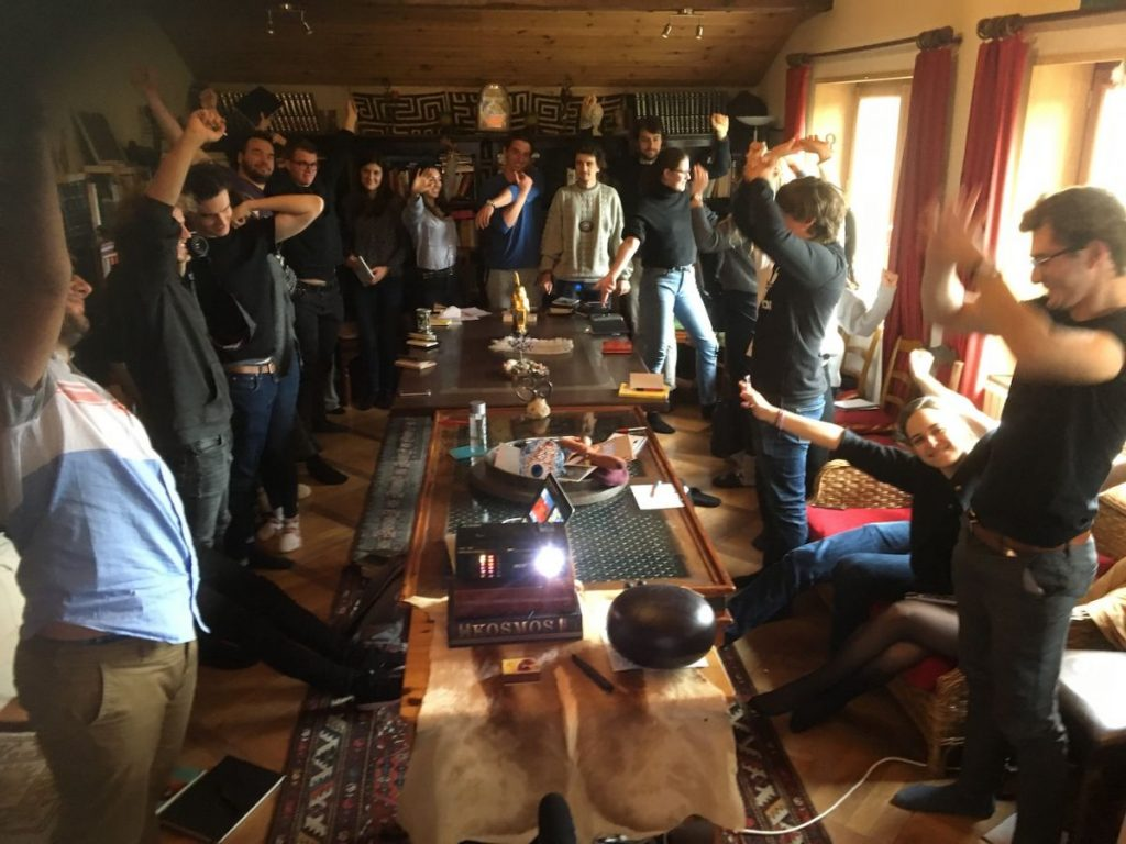 2018 10 30 Hotonnes TA Course St Gallen Participants Movements Library 1