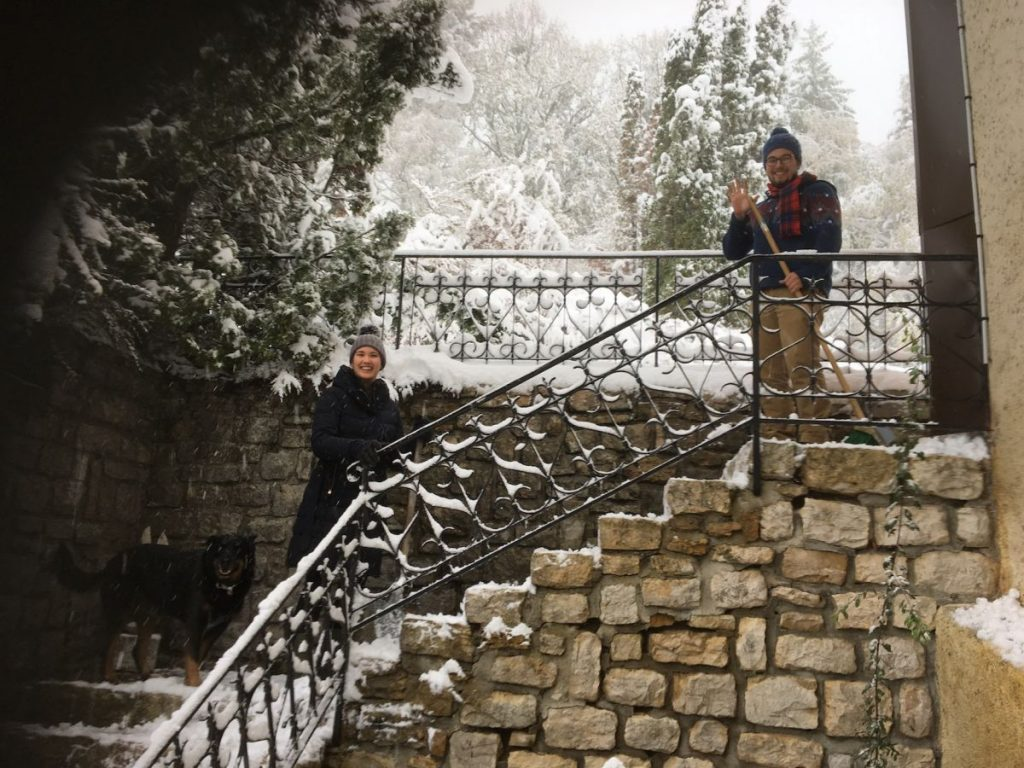 2018 10 30 Hotonnes TA Course St Gallen Snow Hilden Christophe
