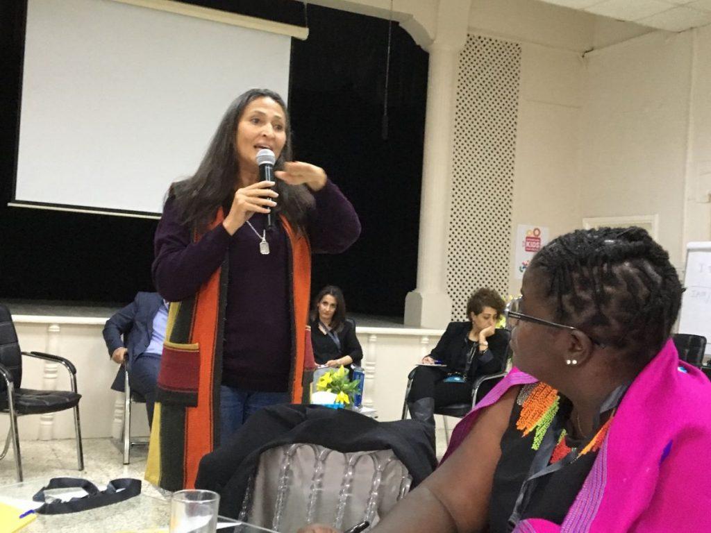 2018 11 22 Amman Tanweer Community Engagement Roundtable Panel Samar Dudin