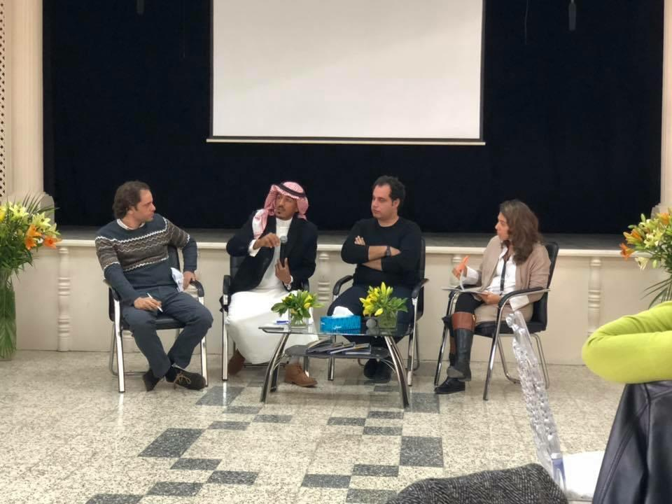 2018 11 22 Amman Tanweer Community Engagement Roundtable Panel with Bedouin Zina