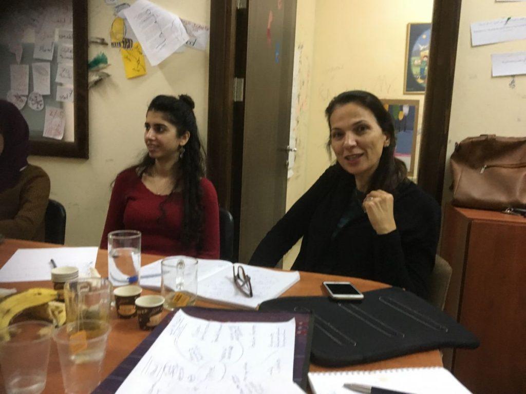 2018 11 29 Ramallah Tamer Institute Workshop Audience 2 Renad Arnit
