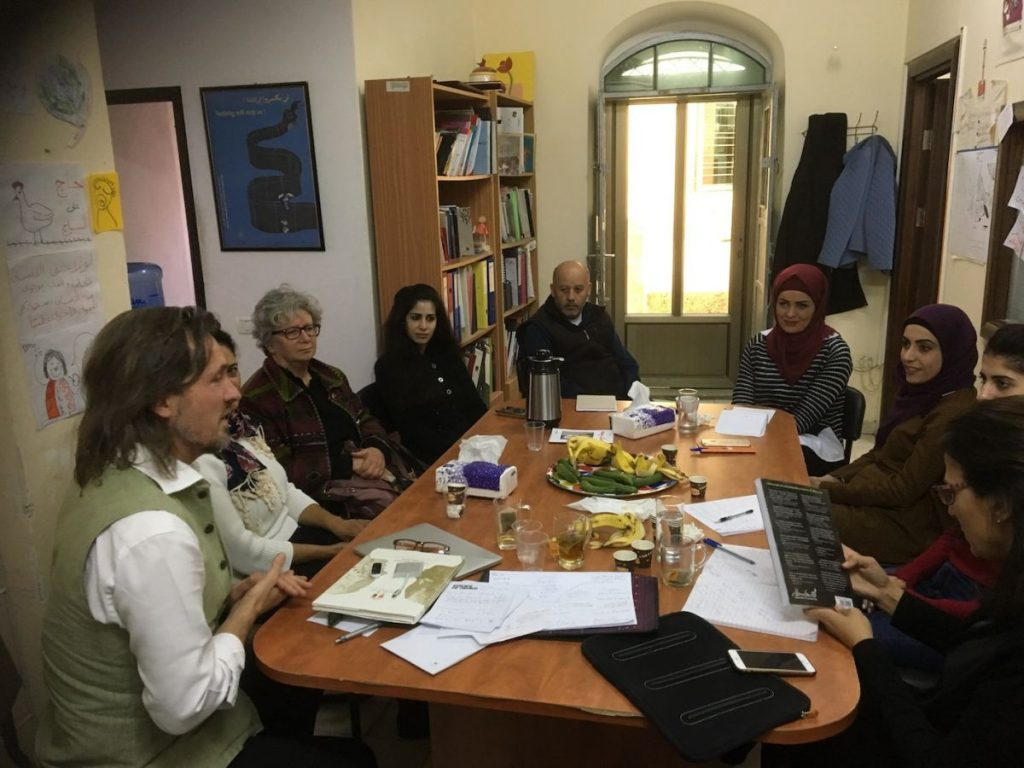 2018 11 29 Ramallah Tamer Institute Workshop Audience 4