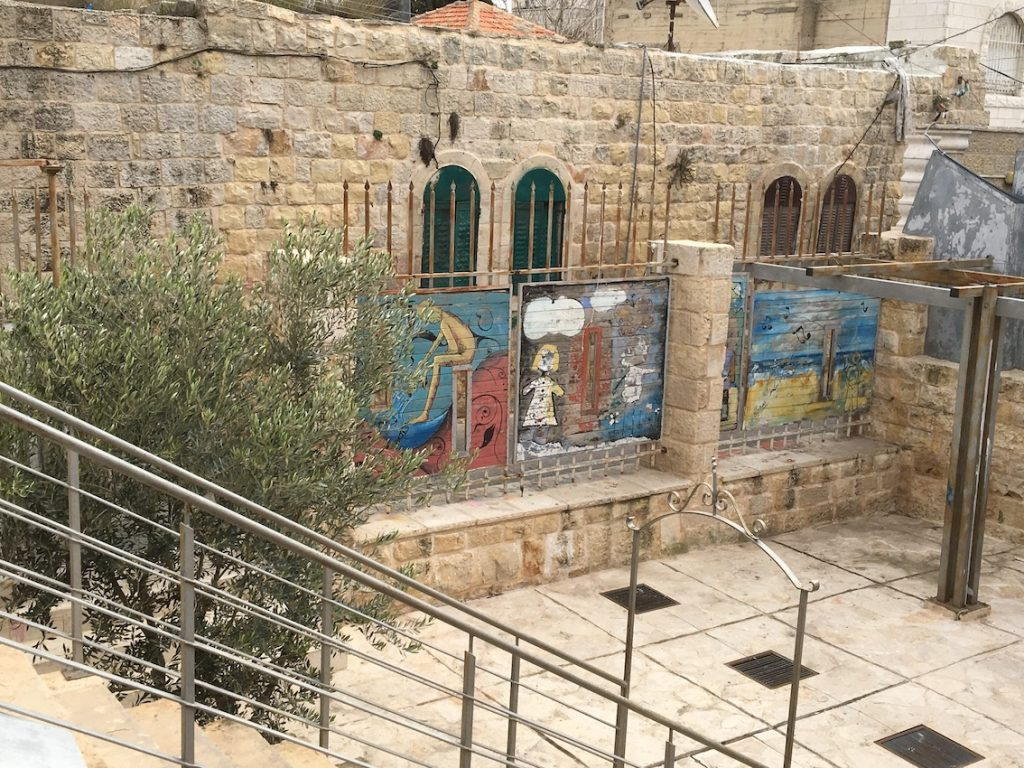 2018 11 29 Ramallah Tamer Institute Workshop Courtyard