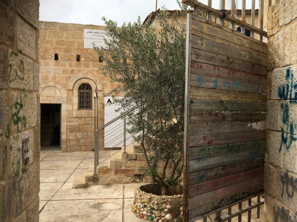 2018 11 29 Ramallah Tamer Institute Workshop Entry