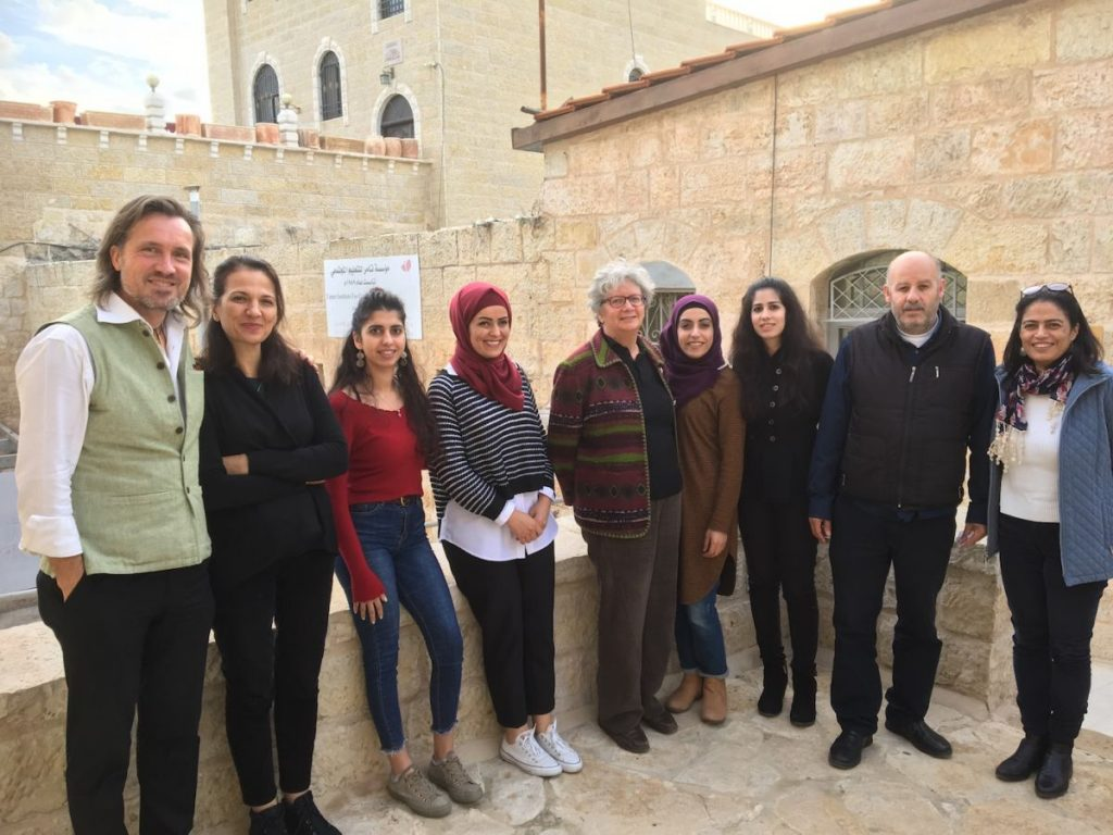 2018 11 29 Ramallah Tamer Institute Workshop Group Picture 1