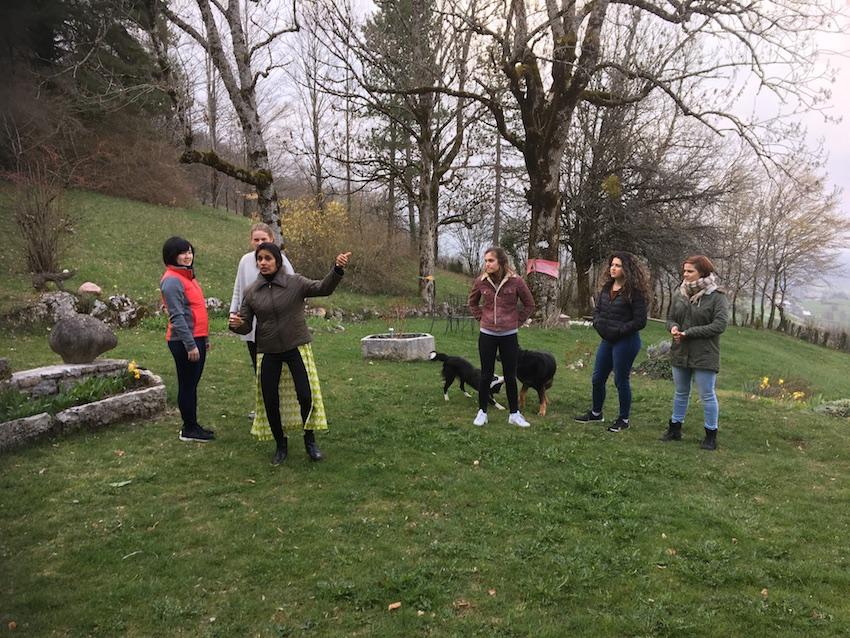 2019 04 08 Integral Development Course 2019 at H4H Garden Exercise 1