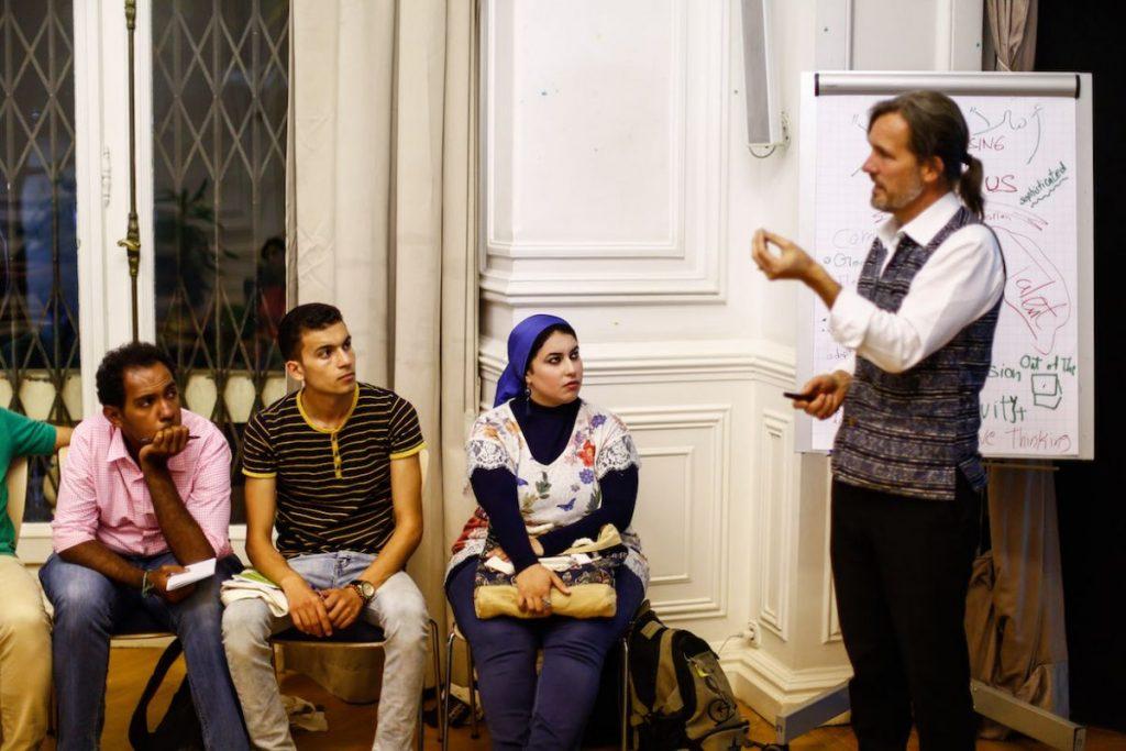 2019 06 14 Egypt Cairo GENEIUS Workshop Ahmed Khuloud Mohamed Bamby Alexander