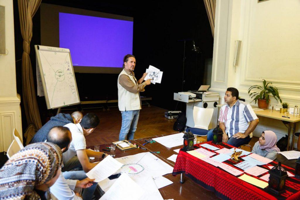 2019 06 14 Egypt Cairo GENEIUS Workshop Alexander Mohamad 2