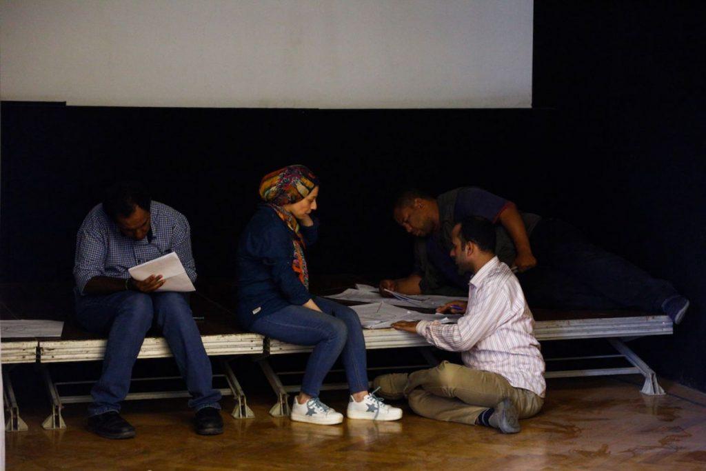2019 06 14 Egypt Cairo GENEIUS Workshop Culture Heritage Group 2