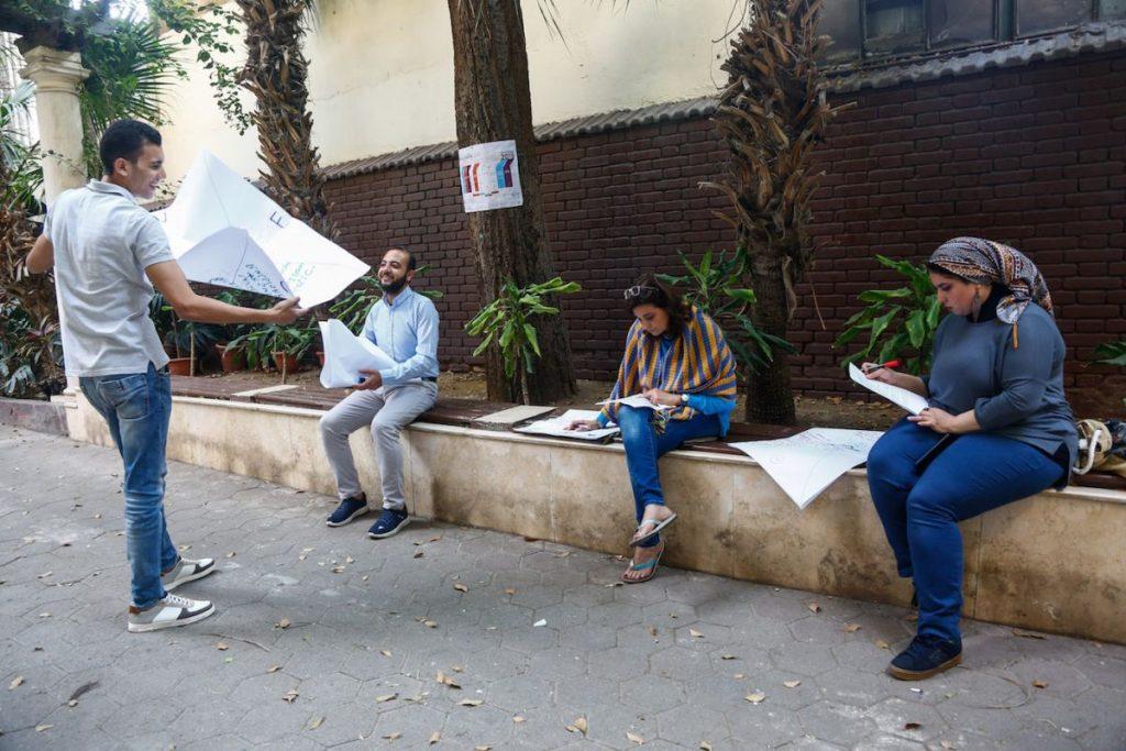 2019 06 14 Egypt Cairo GENEIUS Workshop Environment Group 2
