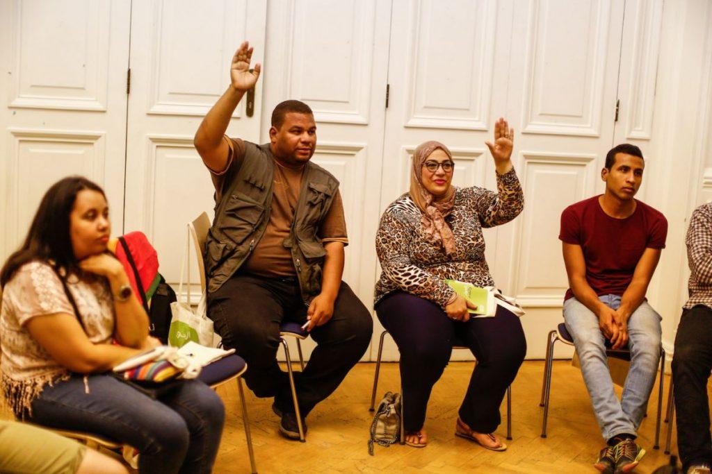 2019 06 14 Egypt Cairo GENEIUS Workshop Faten Mohamed Senousy Omar