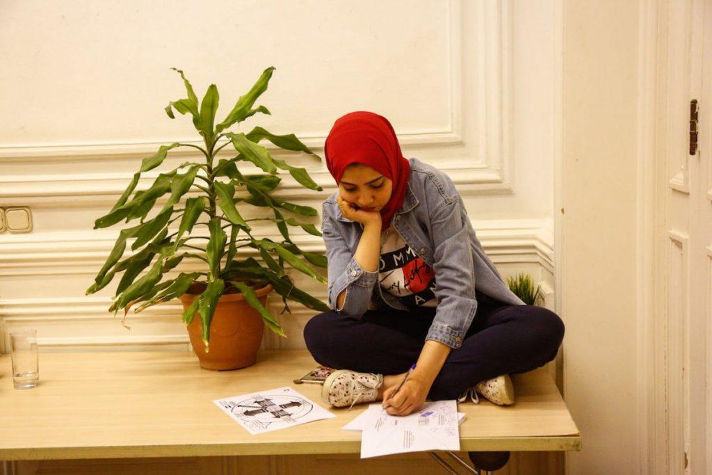 2019 06 14 Egypt Cairo GENEIUS Workshop Ghada