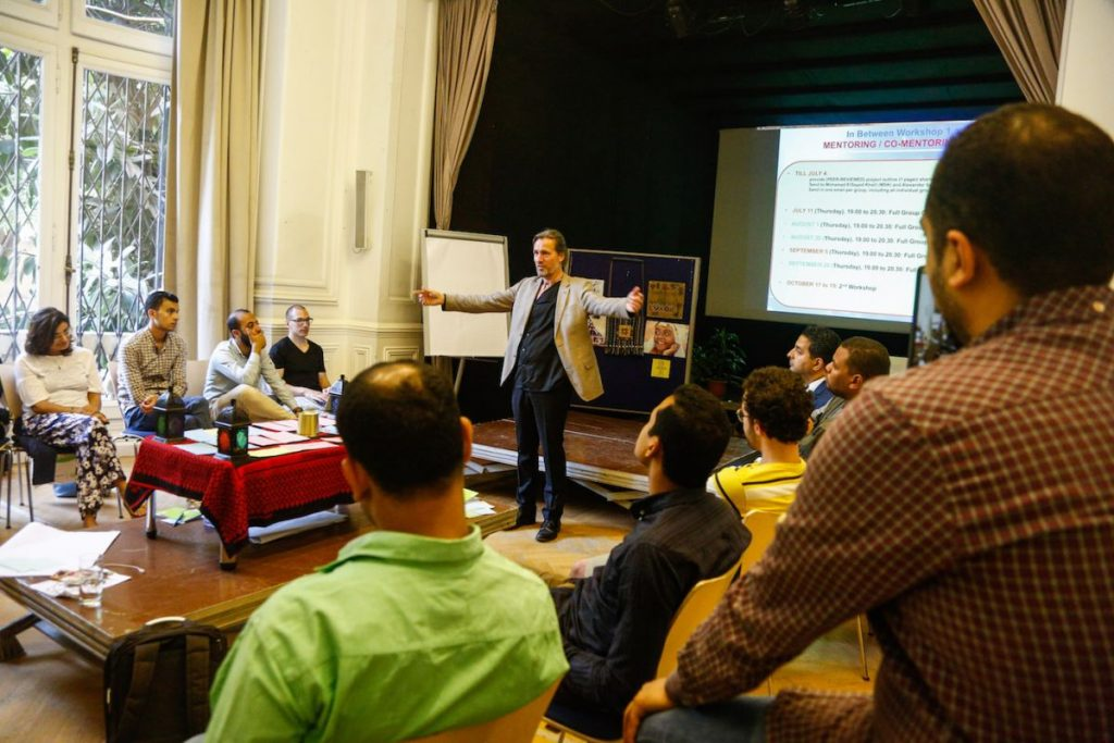 2019 06 14 Egypt Cairo GENEIUS Workshop Group 3