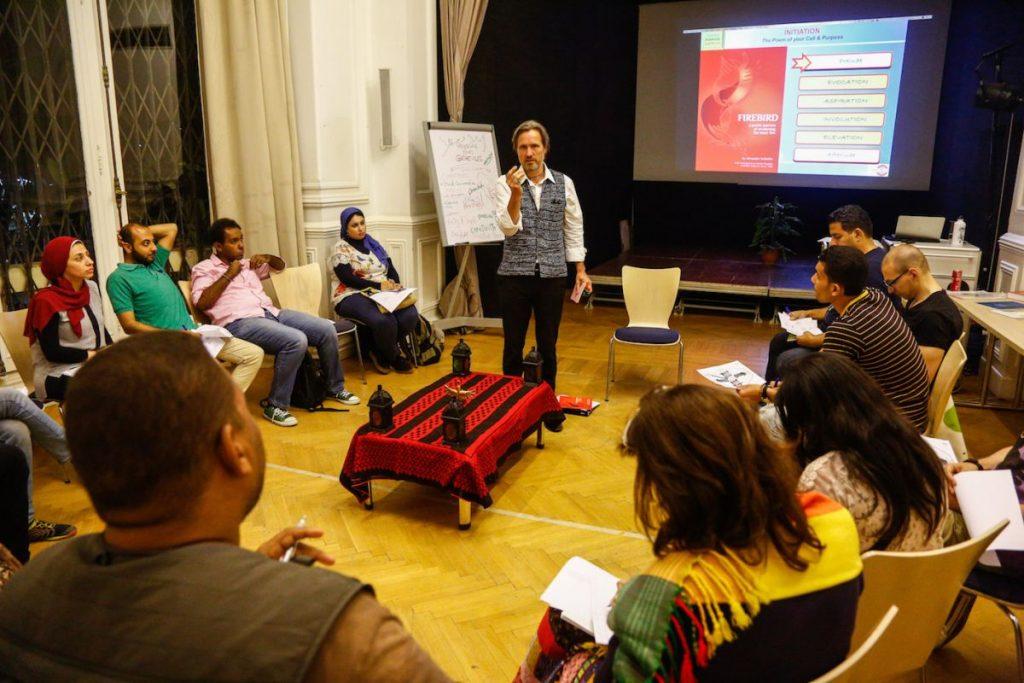 2019 06 14 Egypt Cairo GENEIUS Workshop Group Alexander Firebird