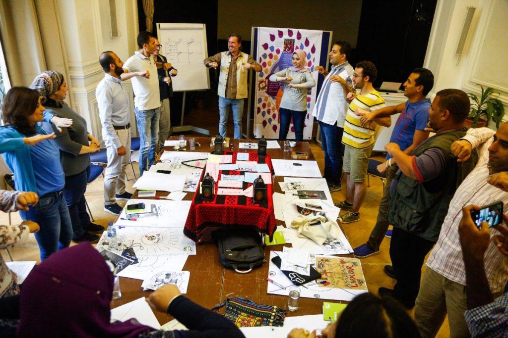 2019 06 14 Egypt Cairo GENEIUS Workshop Group Movements
