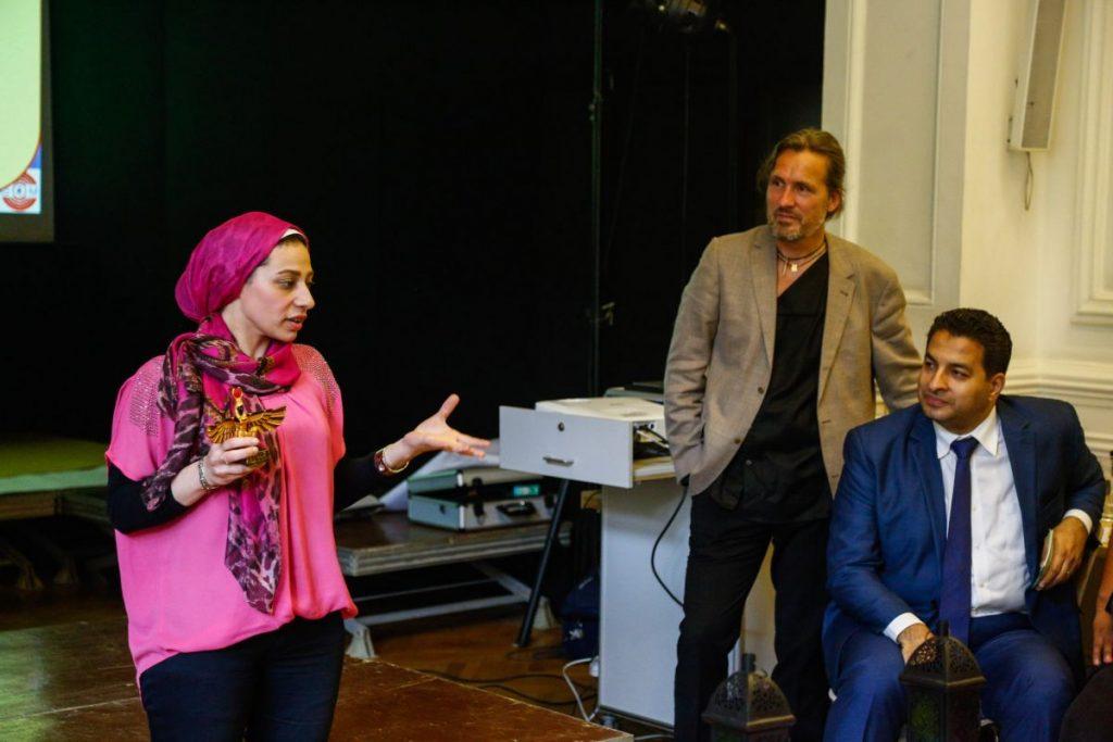 2019 06 14 Egypt Cairo GENEIUS Workshop Group Rasha Mohamad Alexander