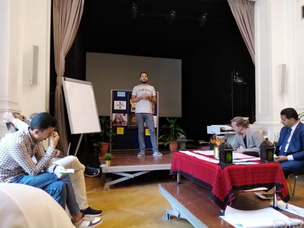 2019 06 14 Egypt Cairo GENEIUS Workshop Islam Shady Safwat