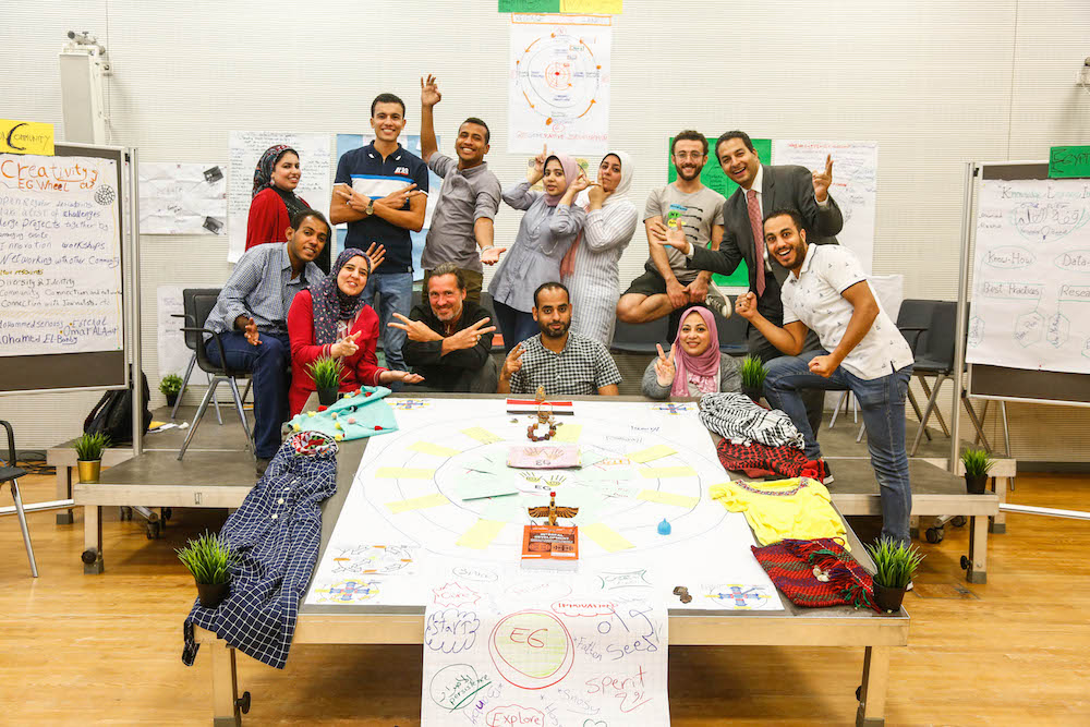 2019 10 19 Egypt Cairo Egyptian Genius Workshop Full Group Picture 1