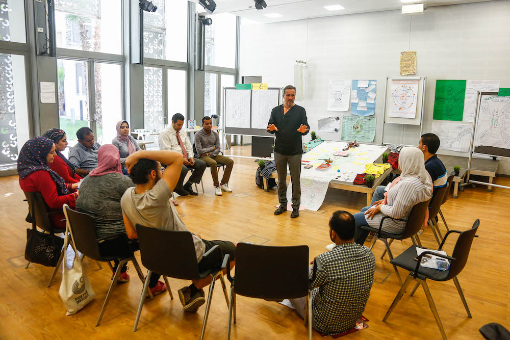 2019 10 19 Egypt Cairo Egyptian Genius Workshop Group Discussion 3