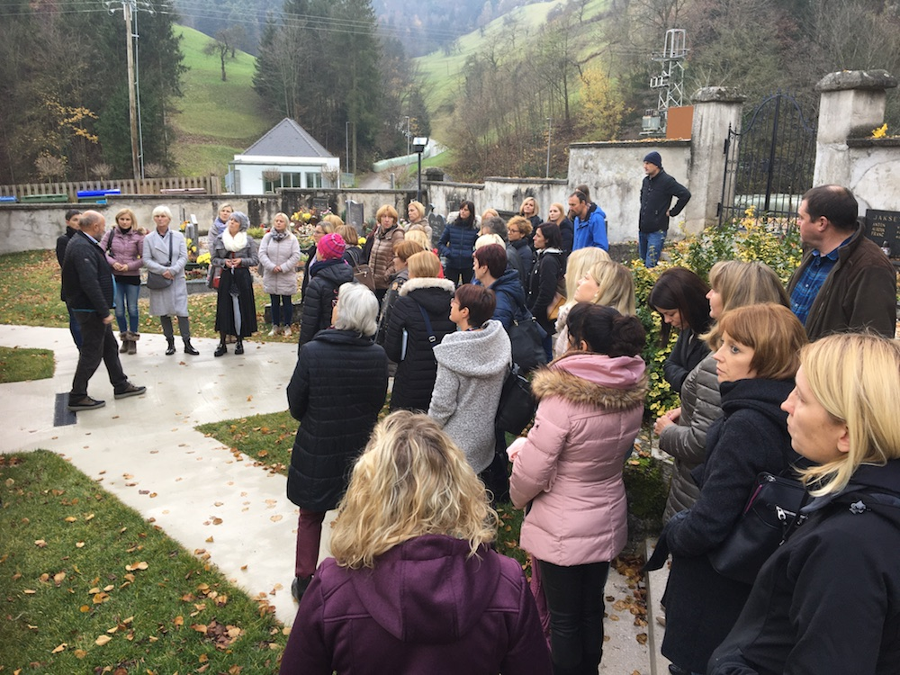 2019 11 23 Slovenia IGE 2019 Spitalic Community Gathering at Church