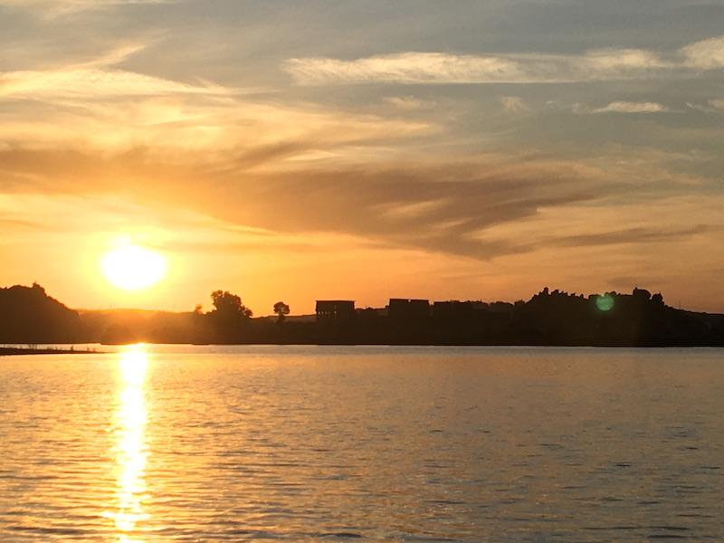 2019 12 20 Egypt Aswan Nile Journeys River Nile Sunset 1