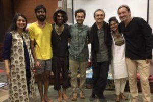 2020 02 Auroville Integral Dialogue Circle 1 Alexander Rama Svaram Musicians