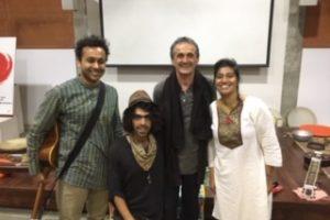 2020 02 Auroville Integral Dialogue Circle 1 Svaram Musicians Aurelio