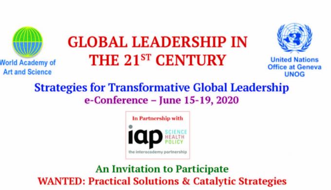 WAAS UNOG Global Leadership Conference 2020 June Invitation