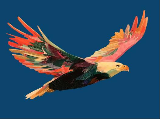 Visioneer Eagle Logo