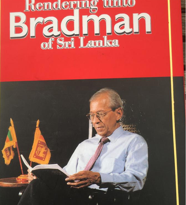 Bradman Weerakoon - Book Cover Rendering to Bradman 2020 10 20