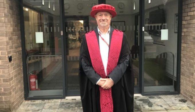 Tony Bradley Graduation Pic PhD Liverpool